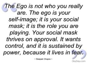 EGO Deepak quote